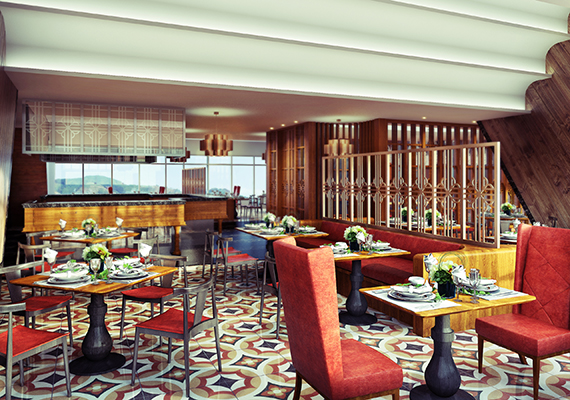 ITC Kohinor pan chinese,comissioned by Design Wilkes .